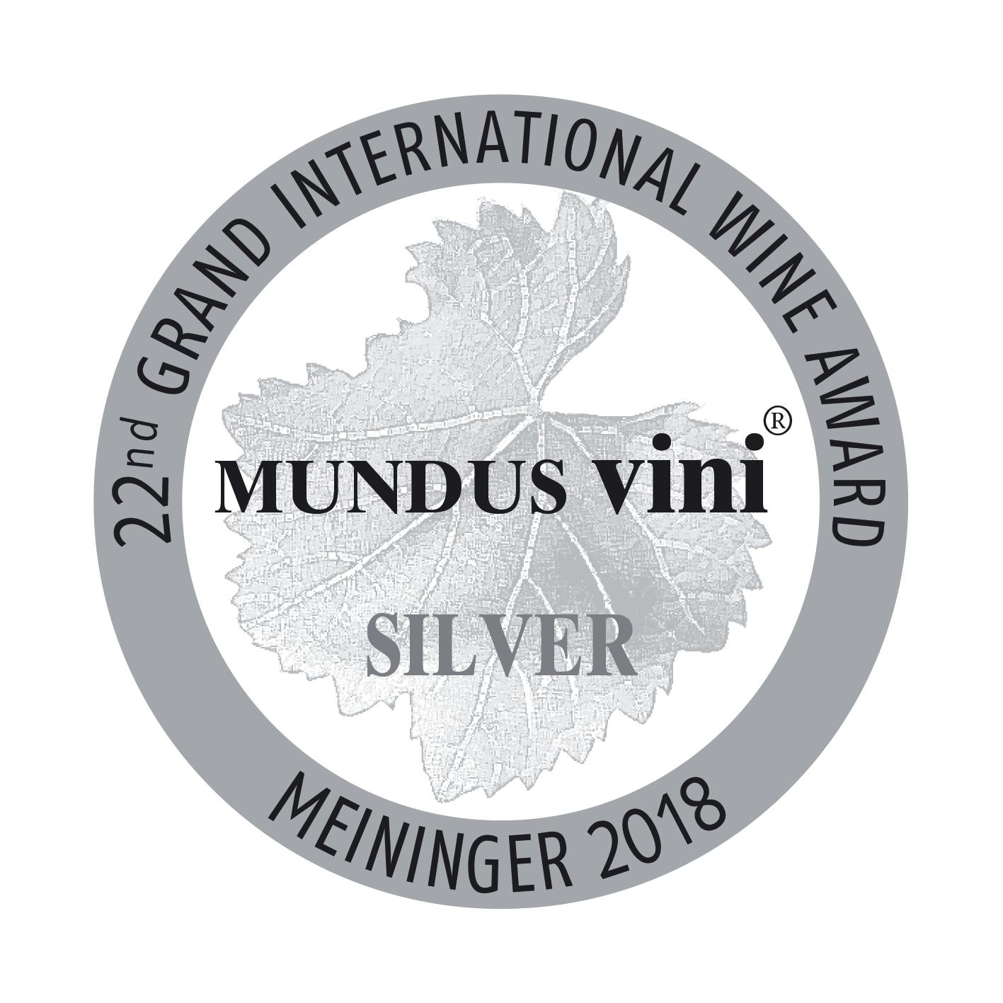 Mundus Vini Silber 2018
