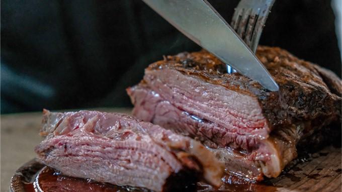Saftiges Steak vom Grill