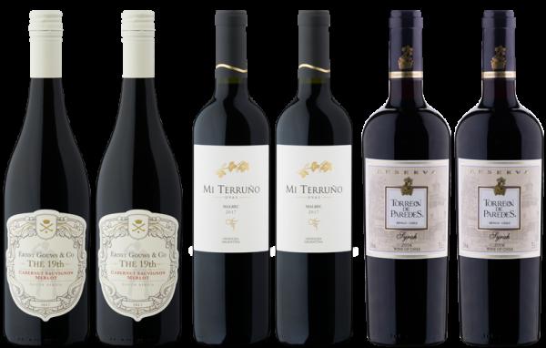 Rotweinpaket »Feierabend«