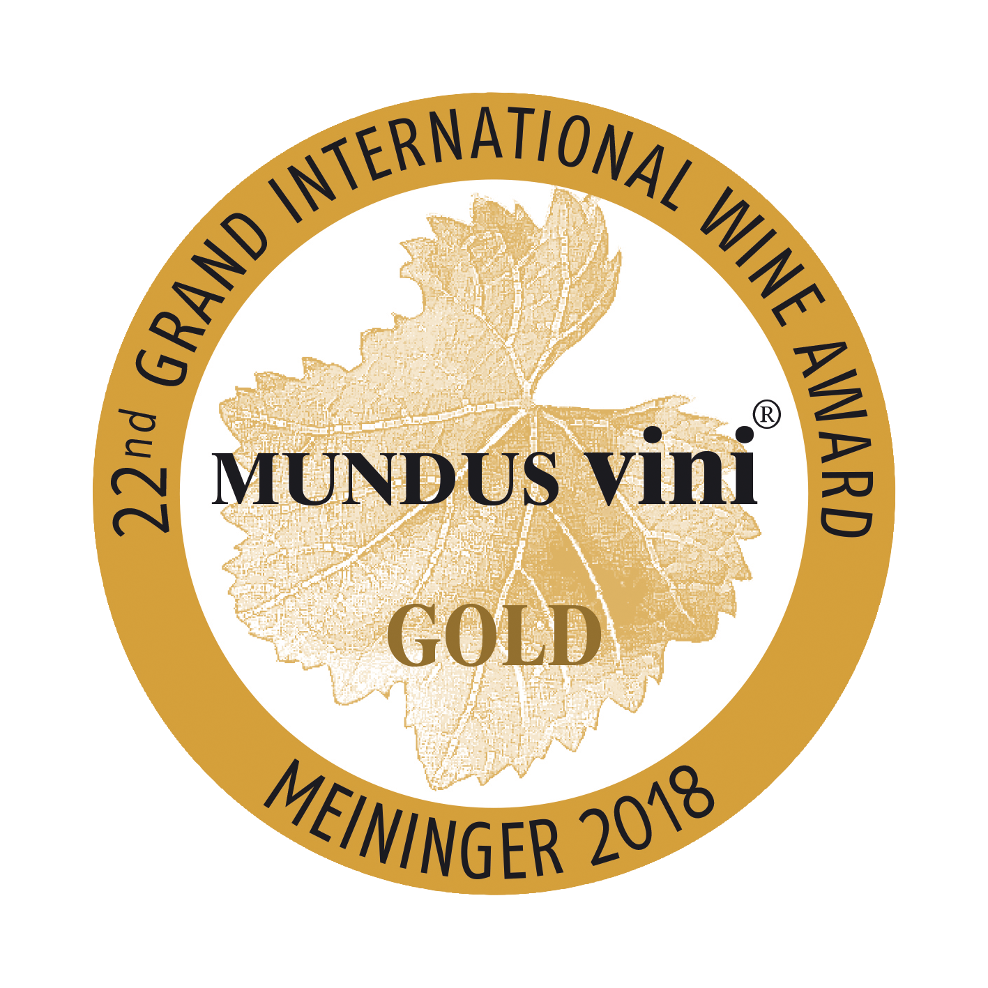 Mundus Vini Gold 2018
