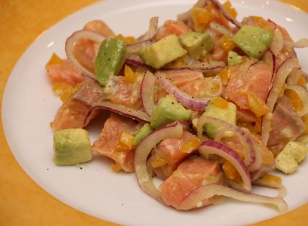 Lachs-Ceviche