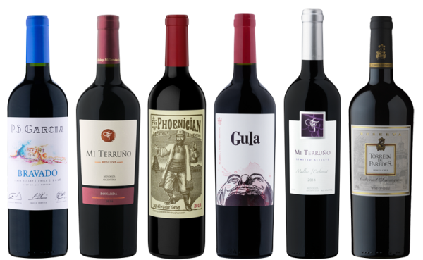Südamerika Rotweinpaket