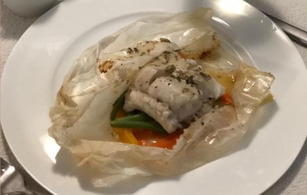 Fish-En-Papillote-zu-THE-19th-Chenin-Blanc
