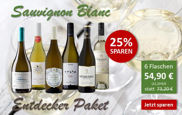 Sauvignon Blanc Entdeckerpaket