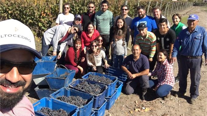 Karim Mussi und Team, Altocedro exklusiv bei vinovossum