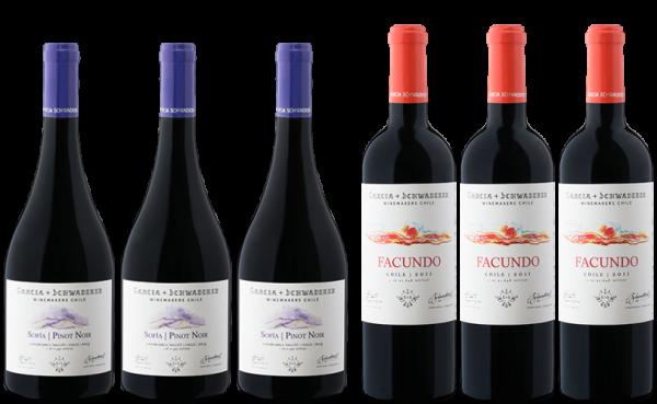 Garcia + Schwaderer Wine Selection