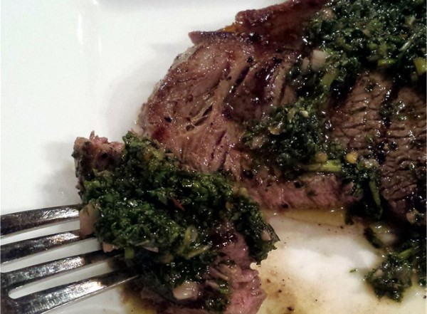 Steak-mit-Chimichurri-Sauce