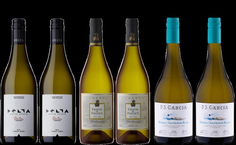 Pacific Weißweinpaket